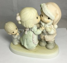 Precious Moments I Saw Mommy Kissing Santa Claus 455822 Eyeglass Mark 1998 - $21.56
