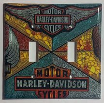Harley-Davidson MotorCycles Light Switch Outlet Wall Cover Plate Home decor image 5