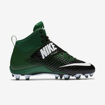 Nike LunarBeast Strike Pro TD Men 13.5 Football Cleats Green/Black NWT F... - $27.67