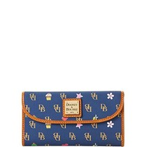 Dooney & Bourke Novelty Gretta Continental clutch Navy Wallet
