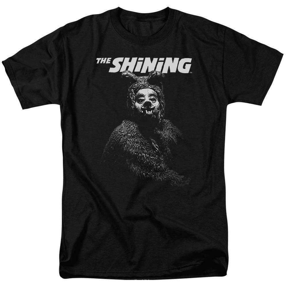 The Shining t-shirt Bear Man retro 80's psycho thriller graphic tee WBM560