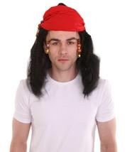 Black Caribbean Pirate Wig HM-172 - £23.49 GBP - £24.25 GBP