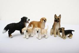 Schleich pets dogs - golden retriever, German shepherd, Bernese mountain... - $34.99