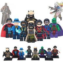 8pcs Superhero DC Black Lightning Eradicator The Question Red Robin Minifigures - $14.98