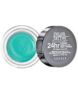 Maybelline EyeStudio Color Tattoo 24Hr Eyeshadow #50 Edgy Emerald 0.14oz. - $2.99