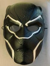 Adult Black Panther Captain America Civil War Movie Hard Plastic PVC Mask - $13.81