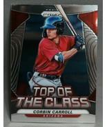 2020 Panini Prizm Top of the Class Corbin Carroll Baseball Card #TOC-16 - $0.99