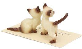 Hagen Renaker Miniature Cat Siamese Mama and Papag Ceramic Figurine Set image 6