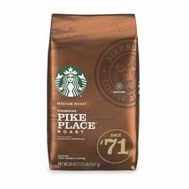 Starbucks Medium Roast Ground Coffee - Pike Place Roast - 100% Arabica - 20oz - $11.37