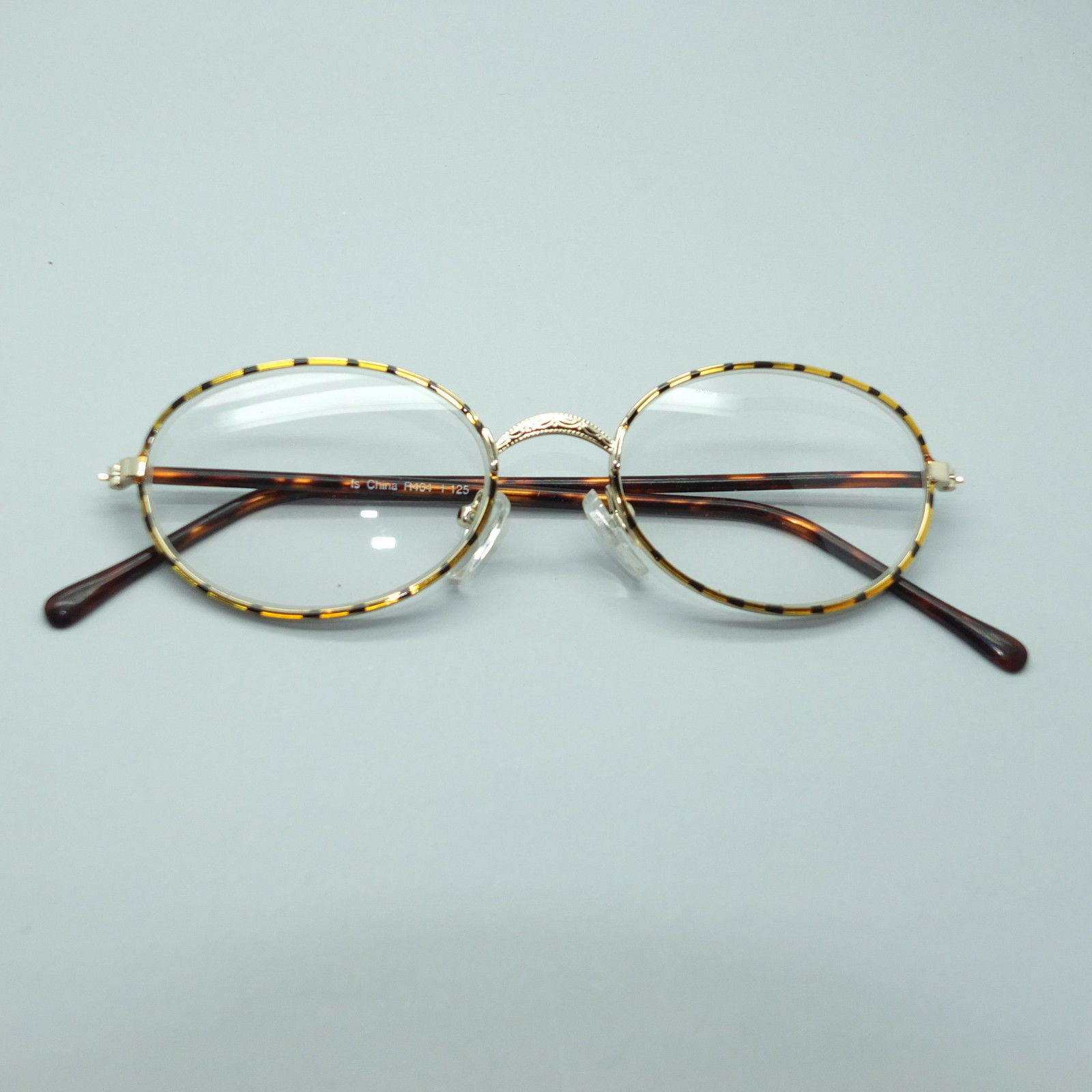 Reading Glasses Black Gold Stripe Wire Round and 50 similar items