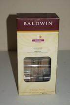 Baldwin Prestige Carnaby Round Half-Dummy Knob Venetian Bronze 351 CYK RDB 11P - $15.83