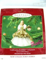 Hallmark Christmas CELEBRATION  BARBIE  2000  Holiday Ornament - $12.82