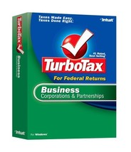 2006 TurboTax Business Corporations and Partnerships [OLDER VERSION] [CD... - $69.29