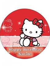 Single Source Party Supply - Hello Kitty Edible Icing Image #1-Round [Gr... - $9.50