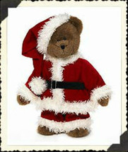 "Boyds Bears ""Mr. Kringle""  #904211 - 16"" Plush Santa Bear-NWT-2003- Retired - $39.99"