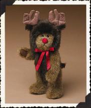 "Boyds Bears ""Matthew...The Reindeer"" #91756-23 - 8"" plush bear-NWT-2004 ... - $39.99"