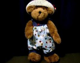 "Boyds Bears ""Tawny Tweeter w/Scarlet"" #904261- 14"" Plush Bear- NWT- 2004-Retired - $39.99"