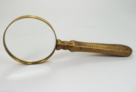 "Beautiful 7.25"" Long Antique Maritime Brass Mag... - $23.00"