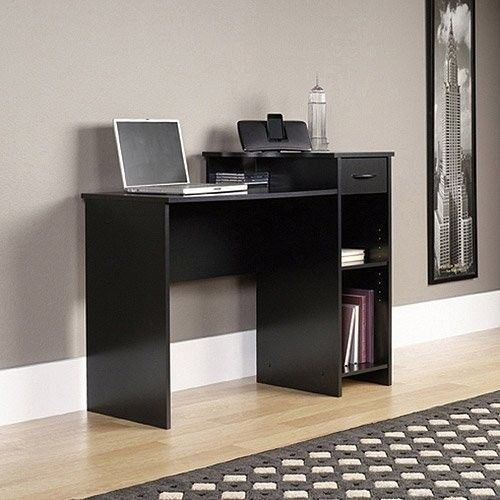 Laptop Computer Desk Workstation Student Dorm Home Office Modern Table
