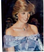 Princess Diana British Monarchy Vintage 11X14 Color Memorabilia Photo - $12.95