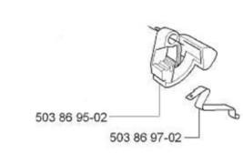 control switch Husqvarna Jonsered 503869502 chainsaw - $15.99