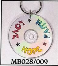Mini CD Key Chain - Faith - Hope - Love - MB028/009
