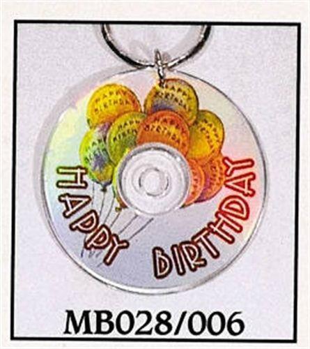Mini CD Key Chain - Happy Birthday - MB028/006