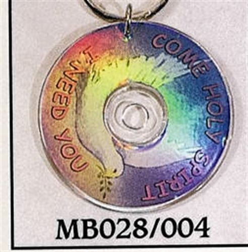 Mini CD Key Chain - Come Holy Spirit I need You - MB028/004