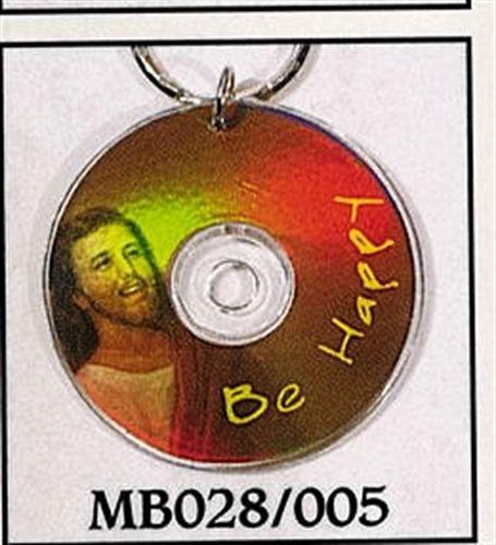 Mini CD Key Chain - Be Happy - MB028/005