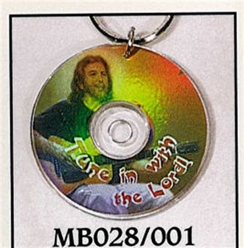 Mini CD Key Chain - Tune in with the Lord - MB028/001