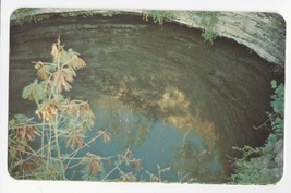 Mexico The Sacred Well Chichen Itza Yucatan Vintage Postcard - $4.74