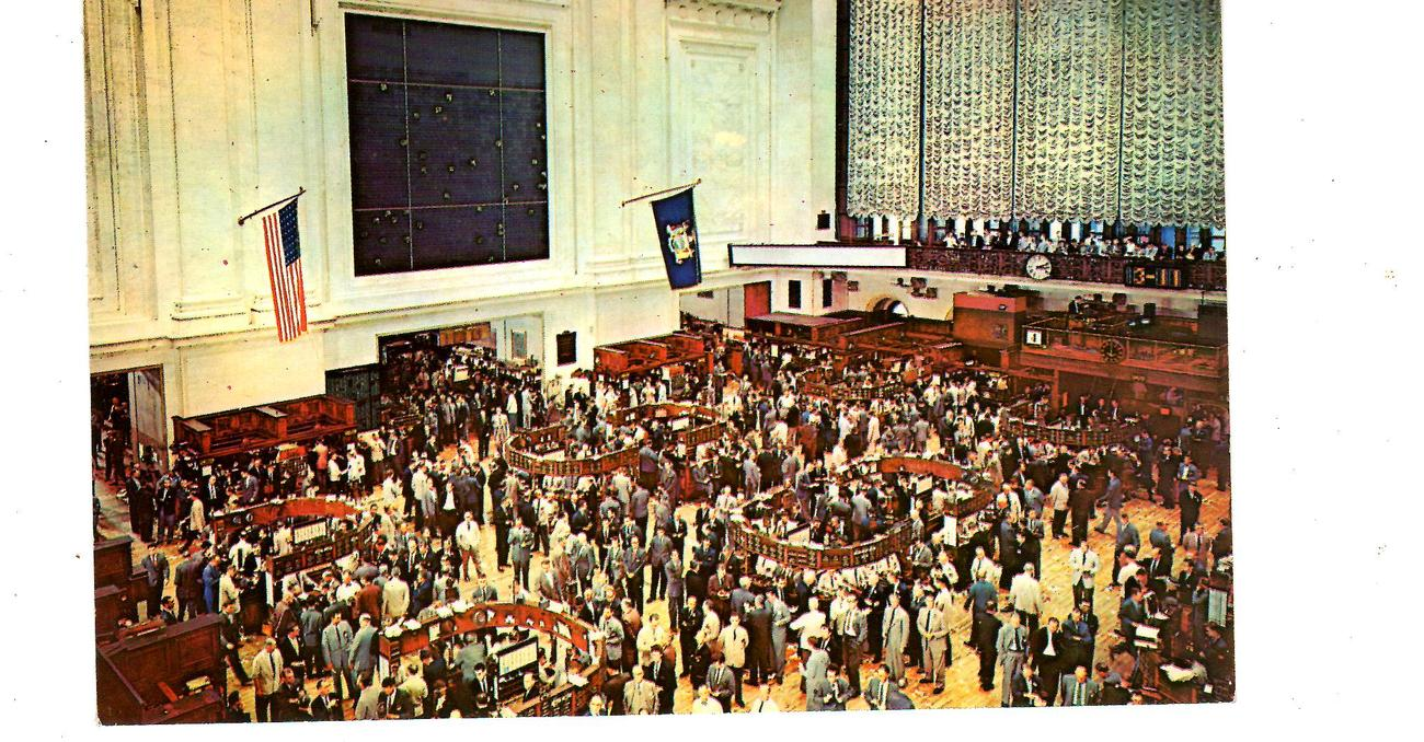 Primary image for New York Stock Exchange (1960's)