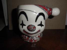 small clown planter 3 1/2 tall - $9.95