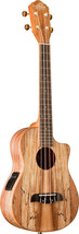Oscar Schmidt OU8TLCE Tenor Cutaway Acoustic/Electric Ukulele Spalted Maple - $329.99