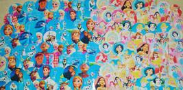 "115 1"" PRECUT ""Frozen & Princess MIX"" inspired images for bottlecaps - $4.25"