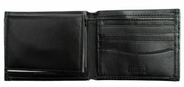 Guess Men's Leather Credit Card Id Wallet Passcase Bifold Black 31GU22X030 image 6