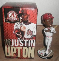justin upton #10 bobblehead new in box 2012 relief pitcher for arizona d... - $31.49