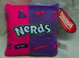 "Nestle NERDS GRAPE & STRAWBERRY 7"" Pillow Plush STUFFED ANIMAL Toy NEW - $18.32"
