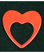 ReadeRest Eye, Sun and Saftey Glass, ID Badge, Holder -Designer Red Heart - $17.99