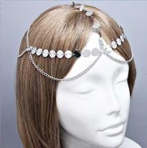 Boho Chic Gatsby Draped Head Chain Headpiece Hair Necklace - $9.99