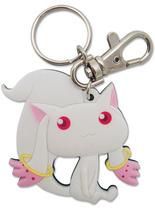 Puella Magi Madoka Magica Kyubey Key Chain GE5104 *NEW* - $9.99