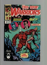 The New Warriors #14 - August 1991 - Marvel Comics - Darkhawk, Namor, Na... - $1.47
