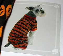 Dog Pajamas Halloween Extra Small Size Mini Pumpkins Outfit Celebrate It... - $8.49