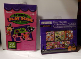 Halloween Sticker Play Scene & Value Pack 1070pc By Creatology 3+ Darice... - $9.89