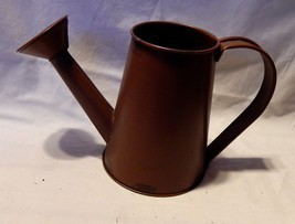"""Harvest Decor Celebrate It Metal Watering Can 5 1/2"""" tall x 9"""" wide 3"""" T... - £4.29 GBP"""