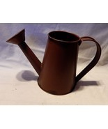 """Harvest Decor Celebrate It Metal Watering Can 5 1/2"""" tall x 9"""" wide 3"""" T... - $5.91"""