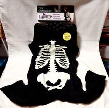 Halloween Dog Pet Costume Celebrate It Lg Skeleton Pajama Glow in the Da... - £6.06 GBP