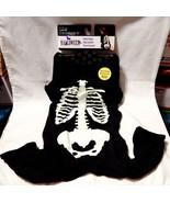 Halloween Dog Pet Costume Celebrate It Lg Skeleton Pajama Glow in the Da... - $7.89