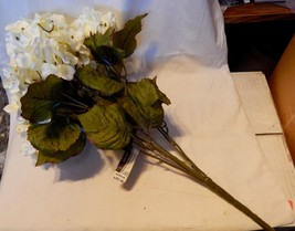 "Ashland Fall Bushes Decor Picks Stems Fillers Flowers 1ea 16"" x 7"" Mater... - $7.87"