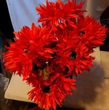 "Ashland Fall Bushes Decor Picks Stems Fillers Flowers 2ea 16"" x 7"" Mater... - $7.89"